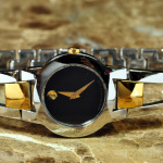 MOVADO AMOROSA Two Tone Model 81 E4 1842 philadelphia