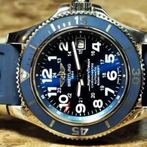 Breitling Superocean II 42 A17365 Blue Dial Box Papers Year 2017