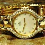Ebel Beluga 18 karat Gold and Diamond Mother of Pearl Dial Ladies Watch 1215871